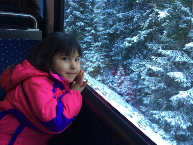 Train ride to Zugspitze